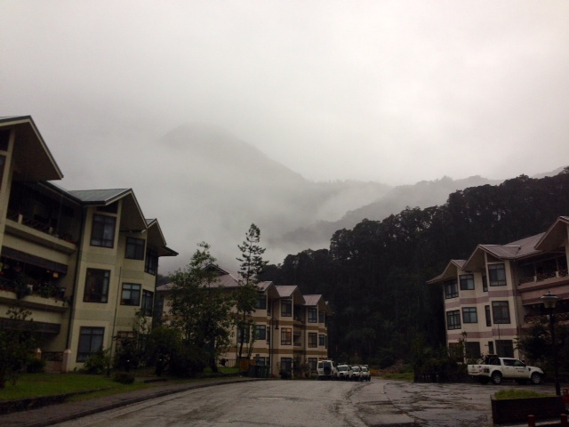 This is a picture of  our neighborhood, Hidden Valley.   It's often lost in the clouds, hence, its name.