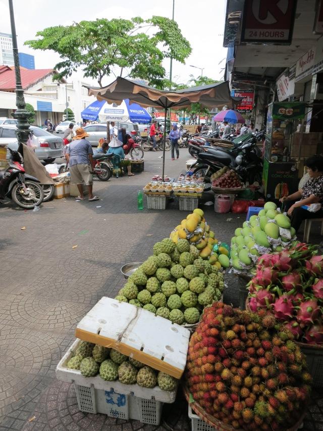 A typical Saigon street.