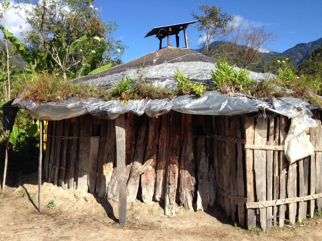 A traditional home.