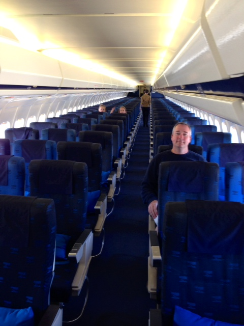 The passengers on board the flight.