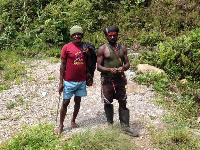men with machete