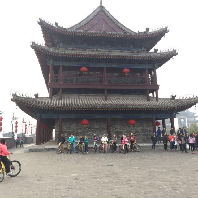 Bike Ride Ancient Walls of Xian