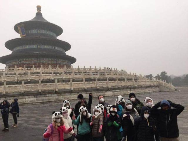 Forbidden City and Panda Hats